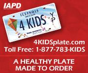 IAPD License Plate ad